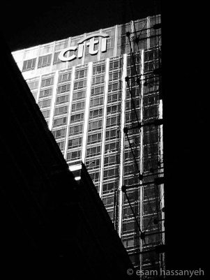 Citi-Building B&W